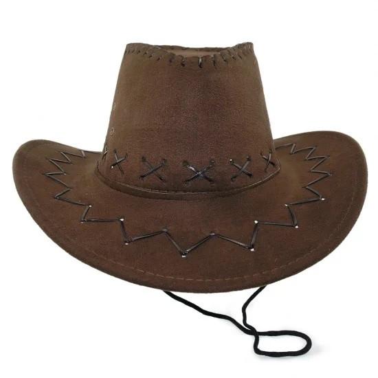Шляпа ковбоя (Стетсон) коричневая детская