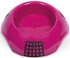 Миска пластиковая LUNA MPS, розовая, 300 мл