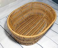 Овальная корзинка для хлеба 28*20*7см (7317)