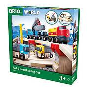 BRIO World НАБОР Автодорога с ж/д переездом 33210, фото 5