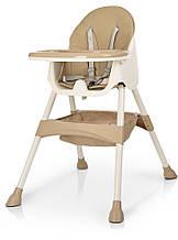 СТУЛЬЧИК для кормления M 4136 BEIGE, детский приставной стульчик
