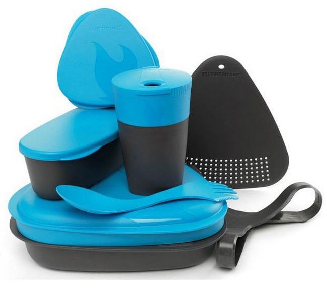 Набір посуду LIGHT MY FIRE MealKit (8 предметів) блакитний