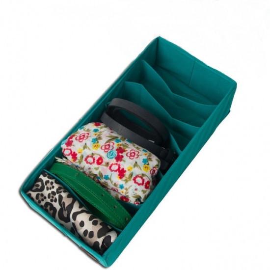 Коробочка для носочков Лазурь, Коробочка для шкарпеток Лазур, Органайзеры для вещей и обуви
