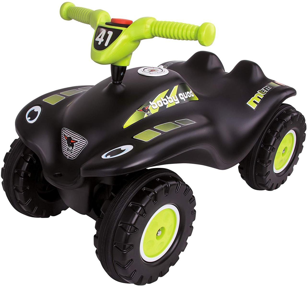 Машинка каталка Квадроцикл для гонок и защитные накладки для детской обуви BIG Bobby Quad Racing 56410