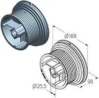 Барабан для намотування троса воріт Alutech гаражних і промислових секційних CD054H
