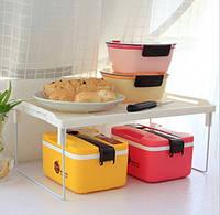 Складная Полка - столик, подставка, стеллаж 31х19,5 (Белый), Складна Полку - столик, підставка, стелаж 31х19,5 (Білий), Все для Кухни