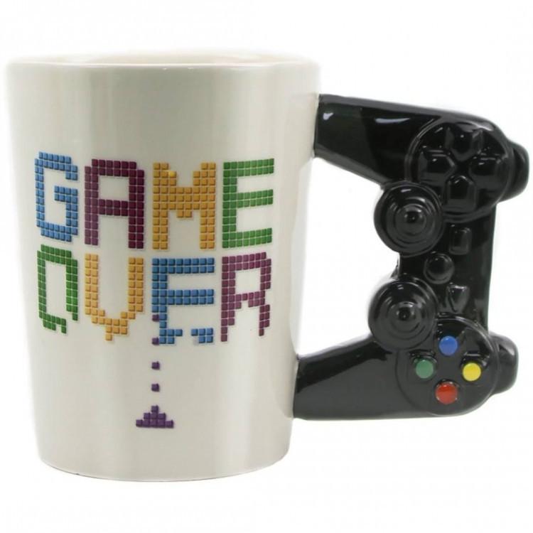Керамическая Чашка Game Over White, Керамічна Чашка Game Over White, Оригинальные чашки и кружки