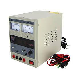 Блок питания AIDA 1505TA, 15V, 5A, стрелочная и цифровая индикация, RF, выход 5V-USB, два режима 5V-15V; 1A-5A