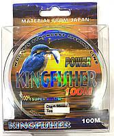 Леска рыболовная Kingfisher Power 100m. 0.25mm. 9.02kg.