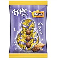 Шоколадные конфеты с печеньем Milka Kugeln Keks