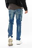 Зауженные джинсы мужские Franco Benussi FB 14-308 paris синие, фото 7