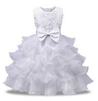 Платье нарядное с бантом 110,  140, 150