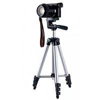 🔝 Высокий штатив для фотоаппарата Tripod 3110, тренога держатель для телефона, трипод для камеры   🎁%🚚