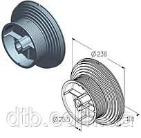 Барабан для намотування троса воріт Alutech гаражних і промислових секційних CD120Н