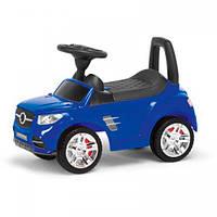 Машина-каталка MB, цвет: синий, с электроникой (, гр. уп-ка: гф/ящ)
