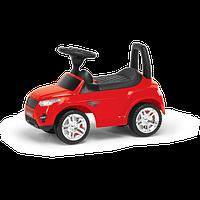 Машина-каталка RR, цвет: красный, с электроникой (, гр. уп-ка: гф/ящ)