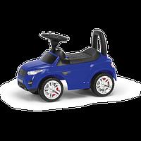 Машина-каталка RR, цвет: синий, с электроникой (, гр. уп-ка: гф/ящ)