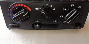 Блок управления отопителя (без кондиционера) Ланос ОЕМ Корея