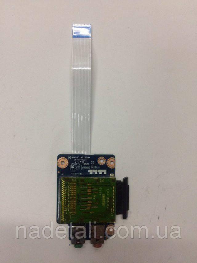 Плата Audio Card Reader  Lenovo G565 LS-5753P
