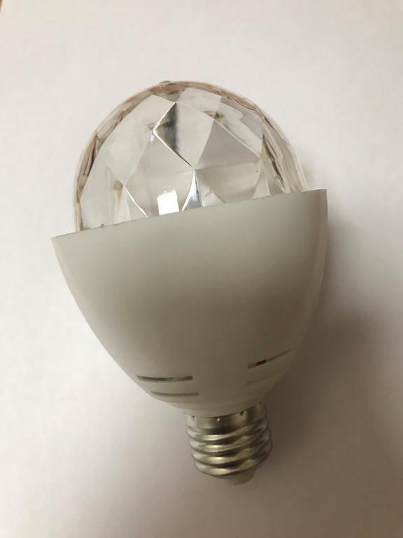 Светодиодная лампа RGB super disco SL3027 Е27 3W Код.52588