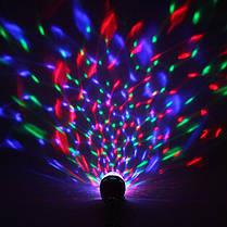 Светодиодная лампа RGB super disco SL3027 Е27 3W Код.52588, фото 2