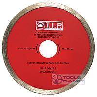 Алмазний диск T. I. P. 115 х 5 х 22,23 Плитка, фото 1