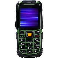 Противоударный телефон Nomi i242 X-treme Black-Green
