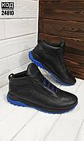 Зимние мужские кроссовки Код 24810 син, фото 1