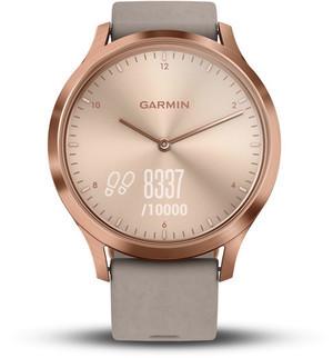 Фитнес часы Garmin Vivomove HR, WW, Premium, Rose Gold-Gray, One-Size
