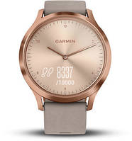 Фитнес часы Garmin Vivomove HR, WW, Premium, Rose Gold-Gray, One-Size, фото 1