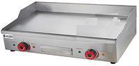 Жарочная поверхность гладкая Rauder BGP-73L 730х450 мм. нерж