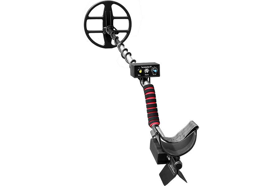 Металлоискатель Терминатор двухчастотный, с катушкой 26 см