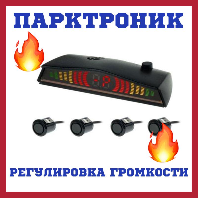 Парковочный радар CYCLON SE-4F (ET-600) black Парктроник для авто