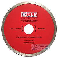 Алмазний диск T. I. P. 125 х 5 х 22,23 Плитка, фото 1