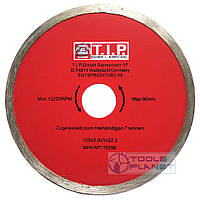 Алмазный диск T.I.P. 125 х 5 х 22,23 Плитка, фото 1