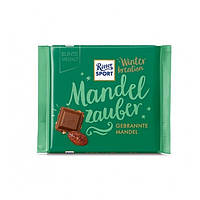 Шоколад Ritter Sport Winter-Kreation Mandel Zauber, 100 г (Германия)