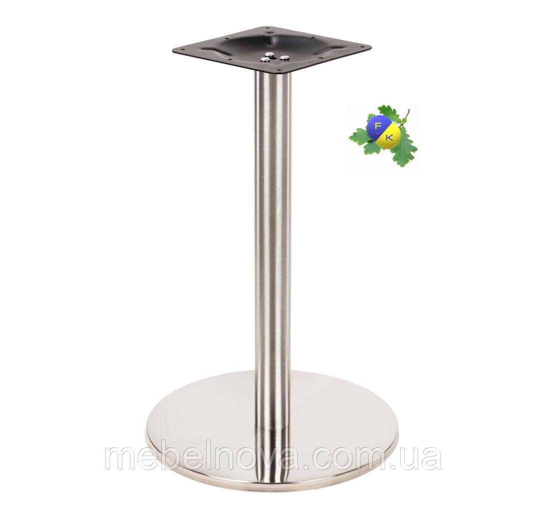 Подстолье Е-19 металева Опора для столу З нержавіючої сталі Для кафе, ресторанів офісів