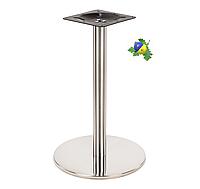 Подстолье Е-19 металлическое Опора для стола Из нержавейки Для кафе ресторанов офисов