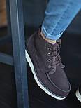 Мужские зимние ботинки UGG David Beckham шоколадные 41-45р. Фото в живую. Люкс реплика, фото 2