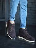 Мужские зимние ботинки UGG David Beckham шоколадные 41-45р. Фото в живую. Люкс реплика, фото 4