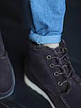 Мужские зимние ботинки UGG David Beckham шоколадные 41-45р. Фото в живую. Люкс реплика, фото 5