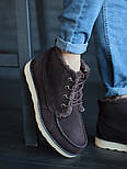 Мужские зимние ботинки UGG David Beckham шоколадные 41-45р. Фото в живую. Люкс реплика, фото 7