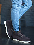 Мужские зимние ботинки UGG David Beckham шоколадные 41-45р. Фото в живую. Люкс реплика, фото 8