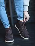 Мужские зимние ботинки UGG David Beckham шоколадные 41-45р. Фото в живую. Люкс реплика, фото 6