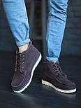 Мужские зимние ботинки UGG David Beckham шоколадные 41-45р. Фото в живую. Люкс реплика, фото 9