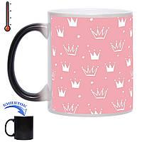 Чашка хамелеон Для настоящих принцесс 330 мл, фото 1
