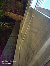 Французское ПВХ остекление П-образного балкона, фото 3