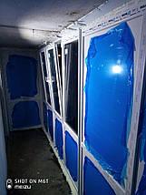 Французское ПВХ остекление П-образного балкона, фото 2