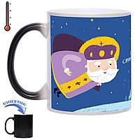 Чашка хамелеон Святой Николай - С Вашим фото 330 мл