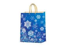 Пакет подарочный Bonita Новогодний, 37х24х10 см (MiksPPA-3 003)